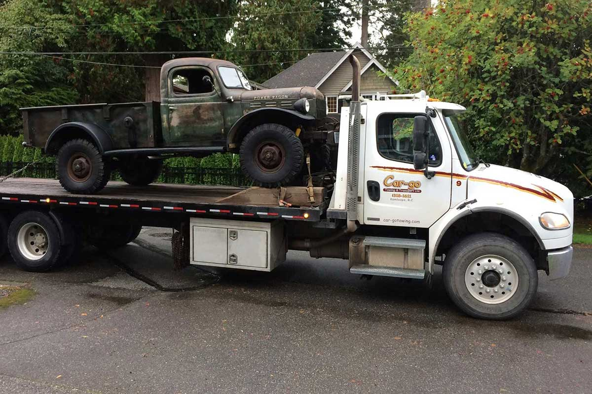 Kamloops towing