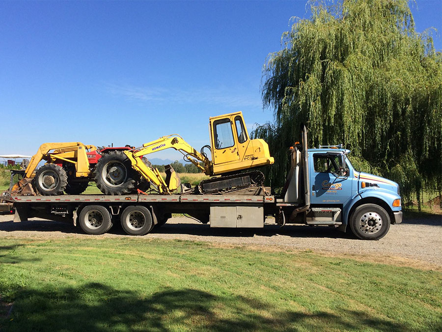 large earth moving equipment kamloops bc