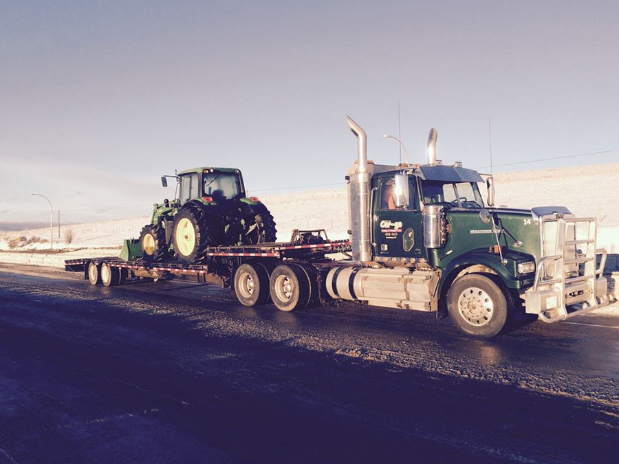 farm equipment towing company kamloops
